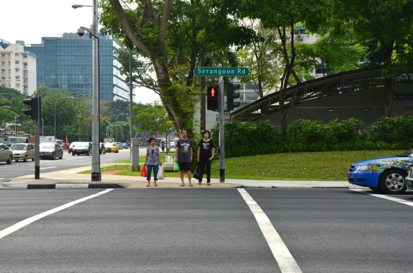 Menyeberang Jalan