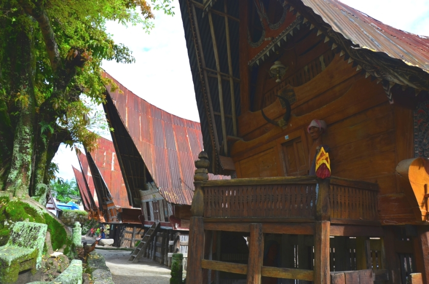 Ruma Bolon, The Traditional Batak House