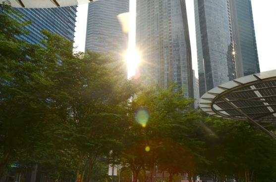 Sun splitted