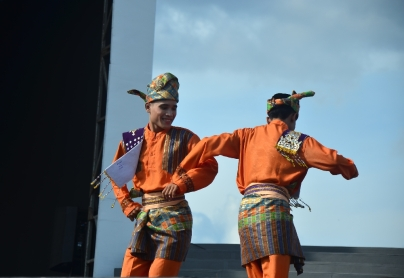 Performance from Kingdom of Siak, Riau