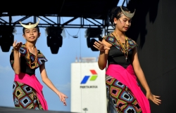 A Dance from Kingdom of Timor, East Nusa Tenggara 4