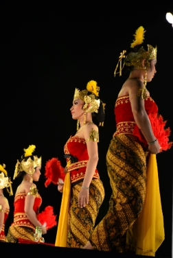 Traditional dance of Keraton Surakarta