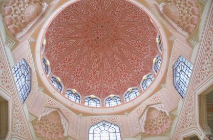 Interior kubah masjid