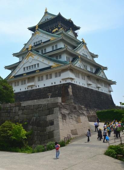 Bangunan utama Osaka Castle